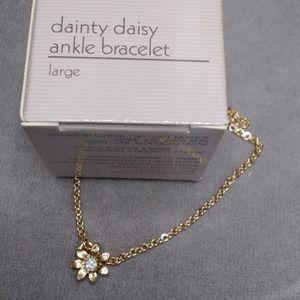 Vintage Avon New Daisy ankle bracelet anklet large